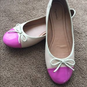 ZigiSoho ballerina flats pink and nude Beverly
